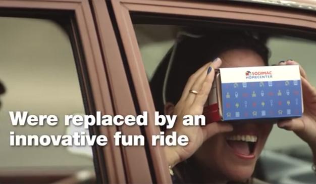 ¿Cansado de las vallas publicitarias? Esta campaña de realidad virtual tiene la solución