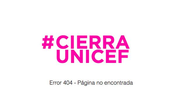 Sorpresa e indignación en Twitter a raíz del hashatg #CierraUnicef