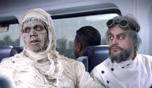 Los peores monstruos y villanos muestran su mayor temor en este divertido anuncio