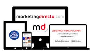 MarketingDirecto.com, sin rival entre los medios marketeros durante el mes marzo