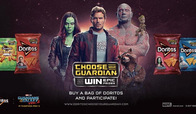 """La nueva bolsa de Doritos que reproducirá la música de """"Guardianes de la Galaxia 2"""""""