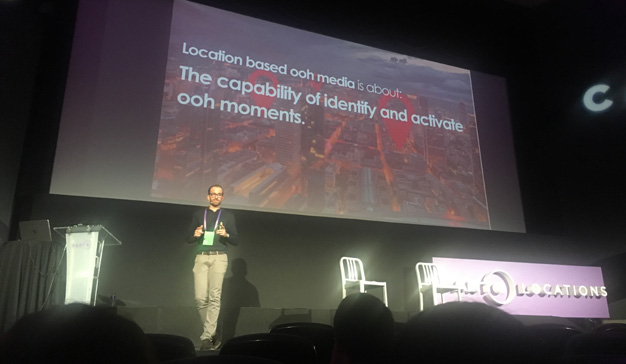"""Ha llegado la hora del Location-Based OOH"", A. García, head of data-driven, Posterscope"
