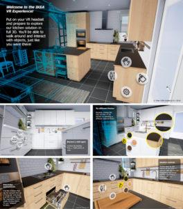 IKEA introduce la realidad virtual para ofrecer una nueva experiencia de compra