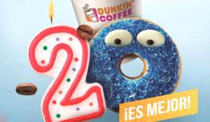 Dunkin' Coffee celebra su 20 aniversario en España