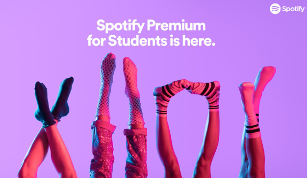 spotify premium para estudiantes se estrena hoy en espa a marketing directo. Black Bedroom Furniture Sets. Home Design Ideas