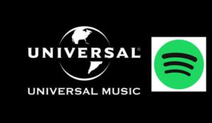 Spotify y Universal Music Group anuncian un acuerdo de licencia internacional