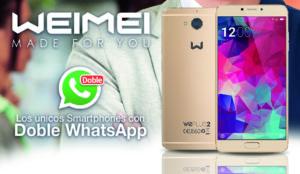 Weimei, el smartphone que incorpora el doble WhatsApp nativo