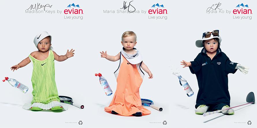 Los adorables bebés de Evian vuelven a la carga y ahora hacen travesuras en Snapchat