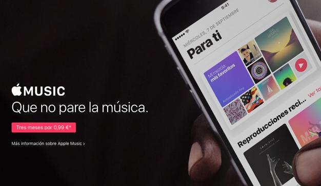 Apple Music pone punto y final a la prueba gratuita de tres meses en España