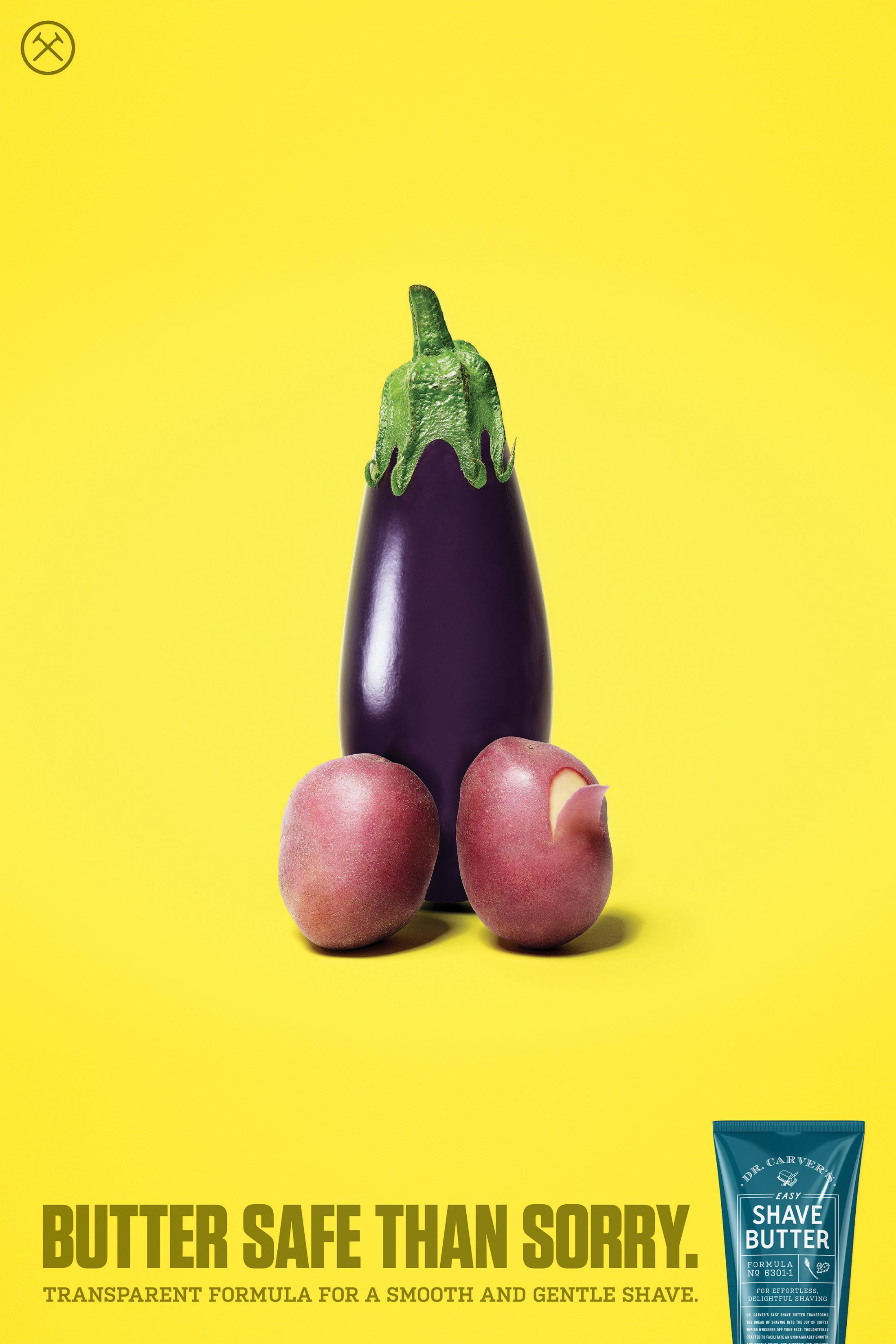 """Estos picantes anuncios sobre la depilación íntima le darán (literalmente) mucho """"corte"""""""