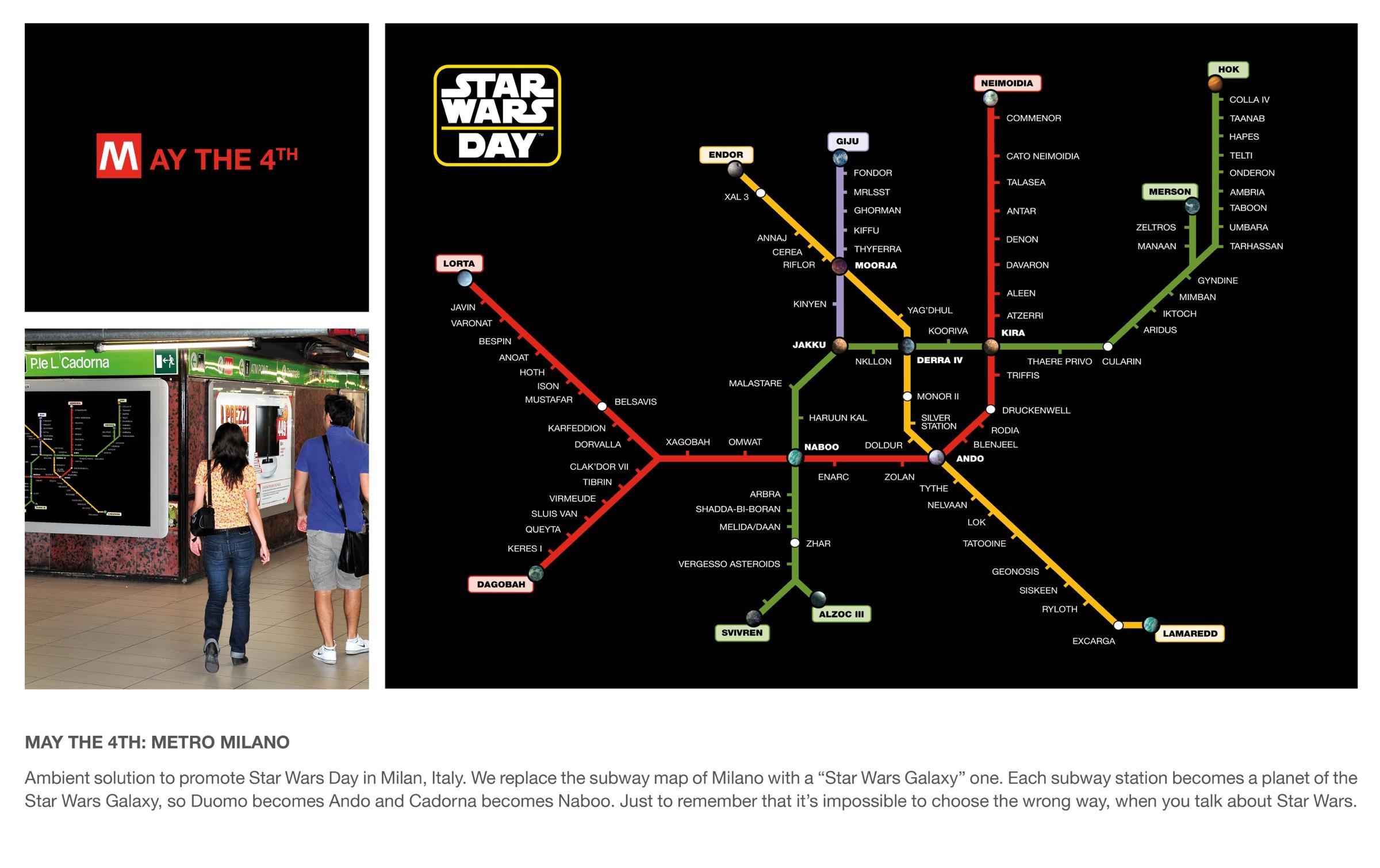 25 anuncios venidos de una galaxia muy lejana para celebrar el Día de Star Wars
