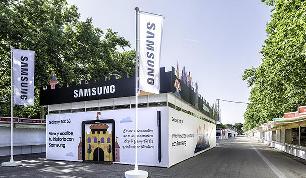 Samsung apuesta por la Feria del Libro de Madrid por quinto año consecutivo