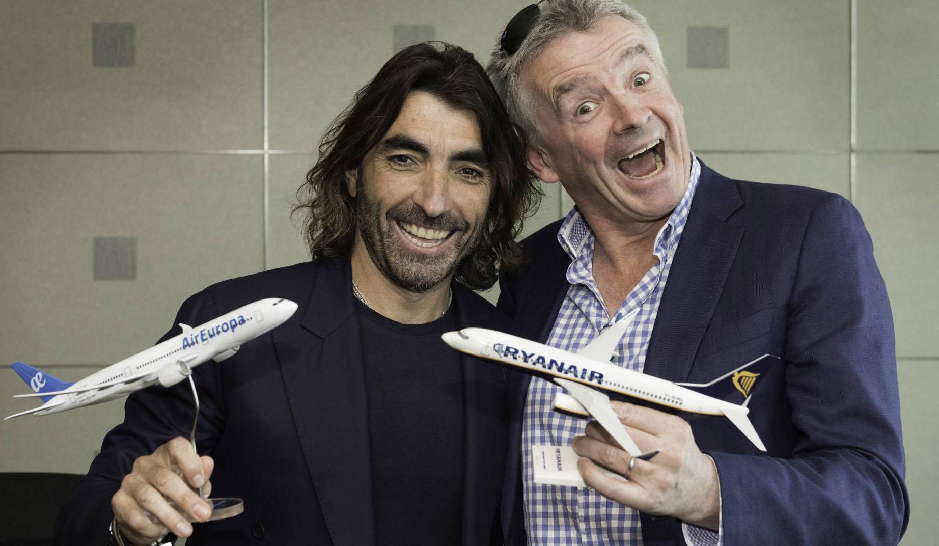 Ryanair y Air Europa crean una alianza para conectar vuelos europeos y de larga distancia