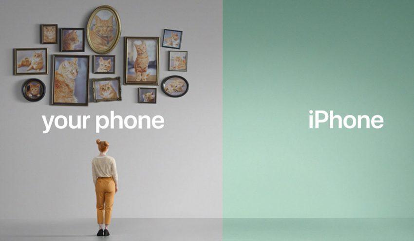 Apple se pone metafórica en su nueva campaña para presumir de iPhone ante sus rivales