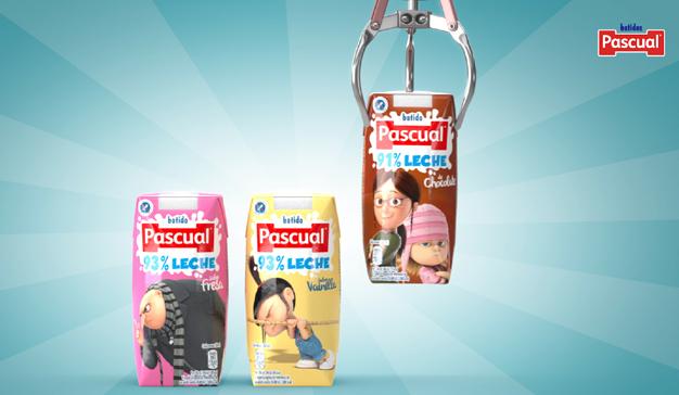 """Pascual relanza sus batidos que son """"la leche"""""""