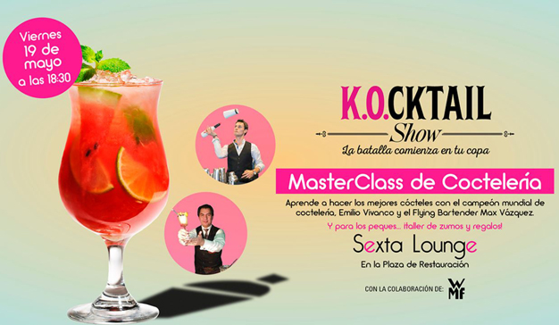 K.Ocktail vuelve este viernes al Centro Comercial Sexta Avenida