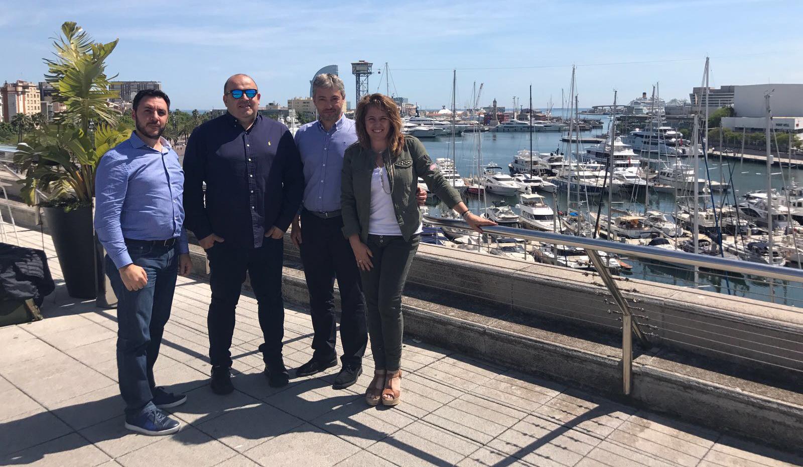 Conector inaugura sede en Madrid con Sixto Arias e Ismael El-Qudsi a la cabeza