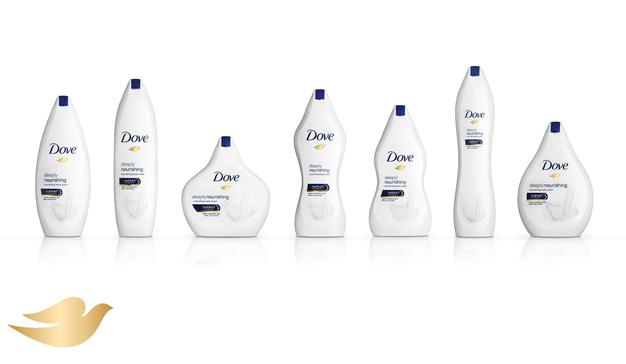 El packaging de Dove imita ahora cuerpos (reales) de todas las formas y tamaños