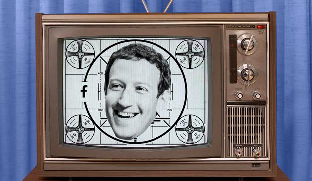 Facebook  está a punto de pegar un tiro en la nuca a la televisión… y a Netflix