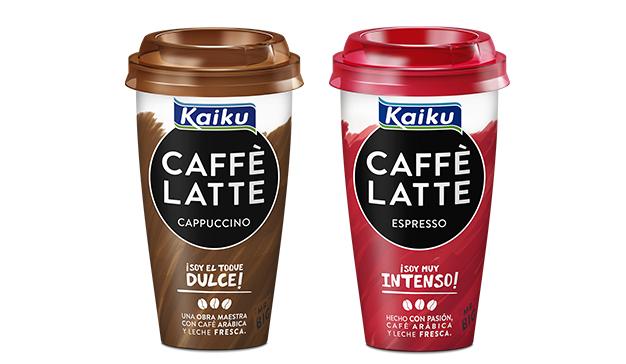 Kaiku Caffè Latte lanza el formato más grande del mercado