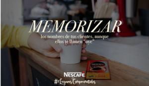 Nescafé homenajea a los baristas dando voz a los compromisos que tienen con sus clientes