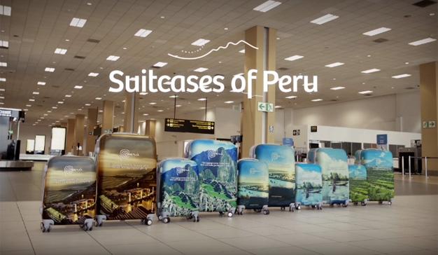 En esta ingeniosa campaña turística la publicidad viaja (gratis) a bordo de maletas