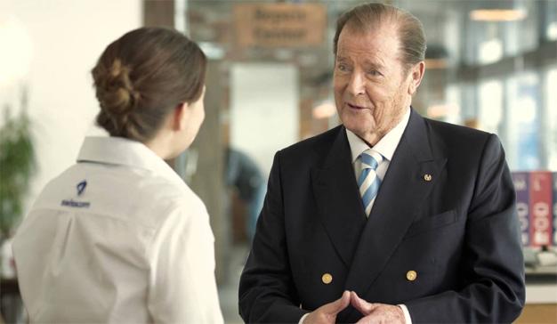 (00)7 spots protagonizados por Roger Moore, el actor que más veces hizo de James Bond