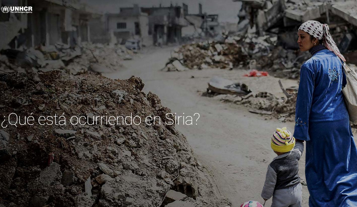 ¿Qué está pasando en Siria? Google destierra mitos en una nueva web interactiva