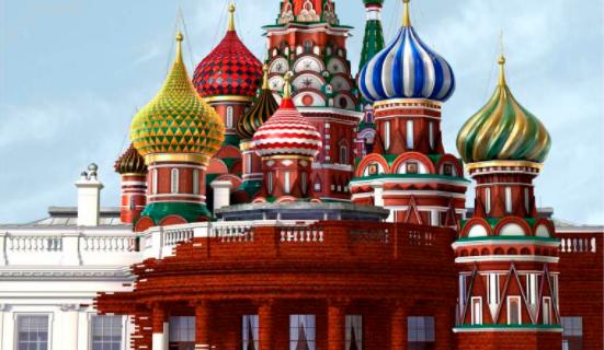 Las relaciones ruso-americanas dejan a la revista Time sin palabras en su última portada