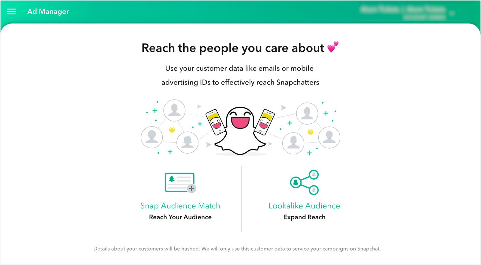 Snapchat tira la caña a anunciantes de todos los tamaños con su nueva plataforma de autoservicio