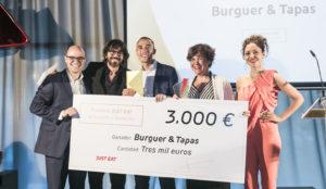 Burguer & Tapas, mejor restaurante de comida a domicilio 2017 de España