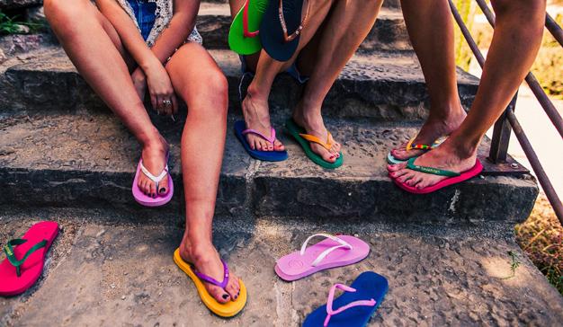 Colorea este verano con Savannah Flip Flops