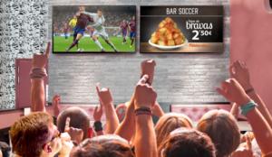 Más de 3,7 millones de espectadores acudieron cada semana a locales públicos a ver los partidos de LaLiga