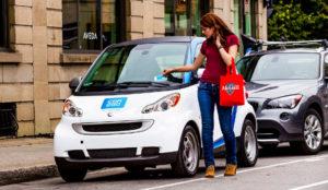 Cada vez es más complicado aparcar en Madrid, pero los usuarios del carsharing tienen un aliado