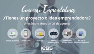Llega la 8ª edición del Concurso de Emprendedores de IEBS para impulsar innovación entre las Startups