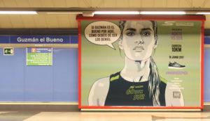 Skechers pica a los madrileños con sus mensajes