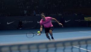 En este spot de Nike Roger Federer consigue que a todos les pique el gusanillo del tenis