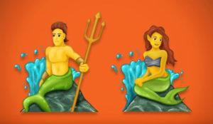 Sirenos, zombis y rostros de sexo indefinido, algunos de los nuevos 56 emojis que nos esperan