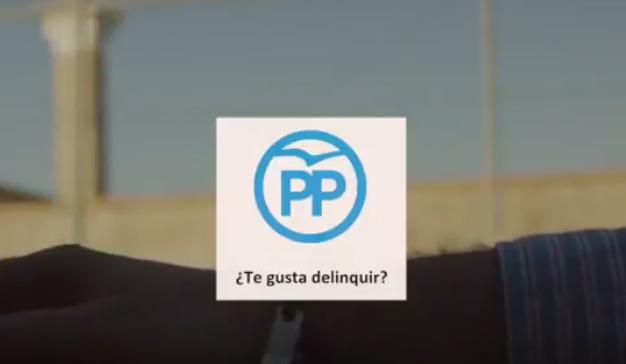 """""""¿Te gusta delinquir?"""", la campaña de Podemos que ha enfurecido al PP"""