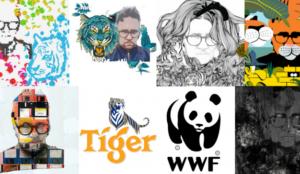 El arte y la tecnología se unen para salvar a los tigres en la nueva campaña de WWF y Tiger Beer