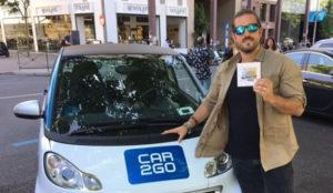 El nuevo álbum de Andrés Suárez se compartirá en los car2go de Madrid
