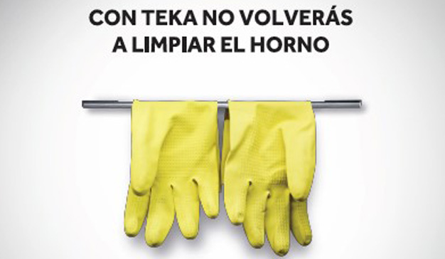 """""""Cuelga los guantes"""": la campaña de Teka para promocionar sus hornos DualClean"""