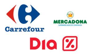 La (necesaria) reinvención digital de DIA, Carrefour y Mercadona (presionadas por Amazon)