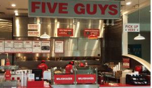 Five Guys abre su segundo restaurante en España en un centro comercial de Leganés