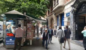Exterion Media amplía su oferta digital con 10 pantallas en kioscos del centro de Bilbao