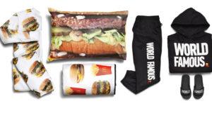 McDonald's lanza al mercado una colección de ropa especial con estampados de sus productos