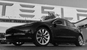 Estas son las primeras imágenes del Model 3 de Tesla (esta vez sí, las reales)