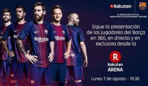 Rakuten emitirá el partido del equipo FC Barcelona contra el FC Chapecoense