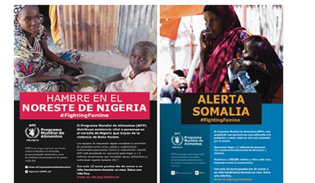 MediaCom colabora con el Programa Mundial de Alimentos de la ONU