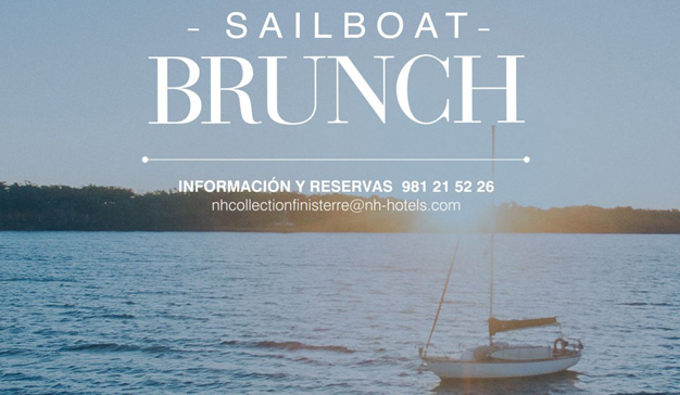 NH Collection Finisterre ofrece un brunch diferente en el mar